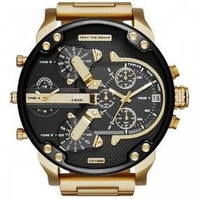 Relógio Diesel Dz7333 Mr. Daddy 2.0 Gold Original Importado