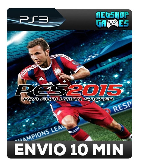 Pro Evolution Soccer 2015 - Pes 15 - Português - Psn Ps3