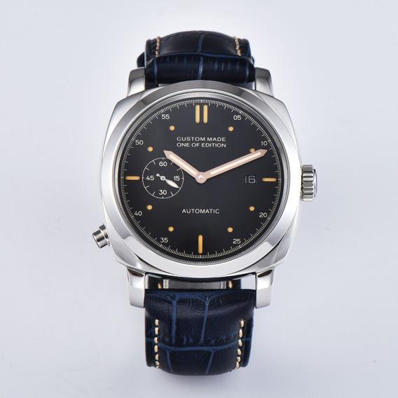 Relógio Automático Parnis Custom Made, Estilo Panerai
