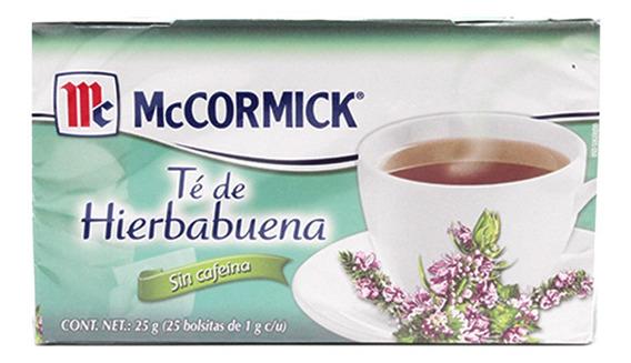 Mccormick Te Hierbabuena Paquete Con 25 Pz