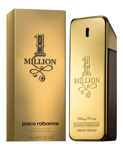 Perfume Importado Paco Rabanne One Million Original X 100 Ml