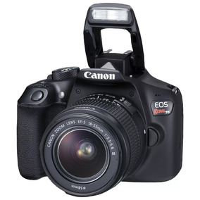 Camera Canon Semi Profissional Eos Rebel T6i Dslr C/18-55mm