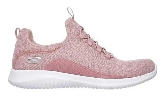 Skechers Zapatillas Running Mujer Ultra Flex Rosa