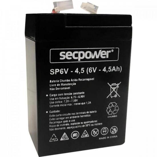 Bateria Selada 6v/4.5a Secpower