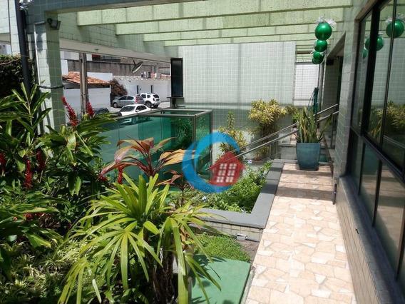 Apartamento Com 1 Dormitório Para Alugar, 30 M² Por R$ 1.600/mês - Parnamirim - Recife/pe - Ap9939