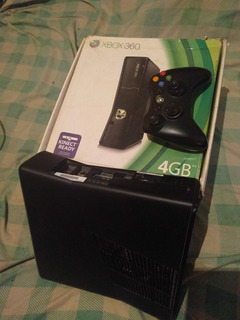 Xbox 360 Slim Chipeado 1 Control + 60 Juegos