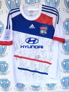 Olympique Lion Lyonnais (frança) 2011 adidas G Autografada