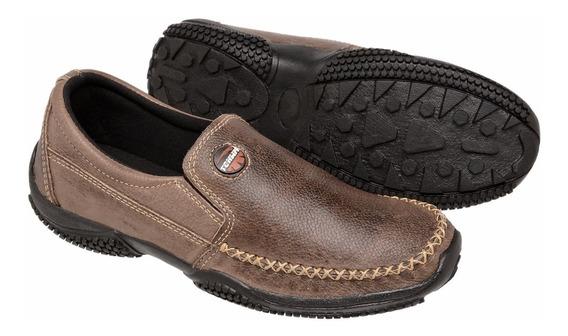 Sapatilha Masculino Couro Legitimo Confortavel Tchwm Shoes