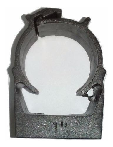 Imagem 1 de 1 de Kit 40 Abraçadeira Click Plástica Para Tubo 1 Polegada