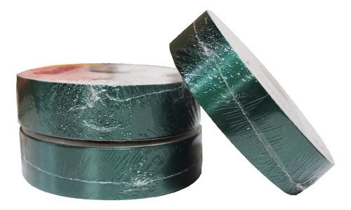 Imagem 1 de 1 de 1 Rolo Fita Master Lisa Para Laços 32mmx100m - Verde Escuro