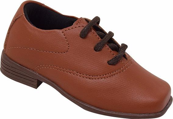 Sapato Social Infantil Menino 20 Ao 36 Ref 20002