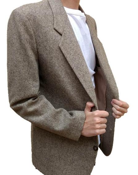 Blazer Masculino Decinelli Modelo Esportivo Em Lã Forrado