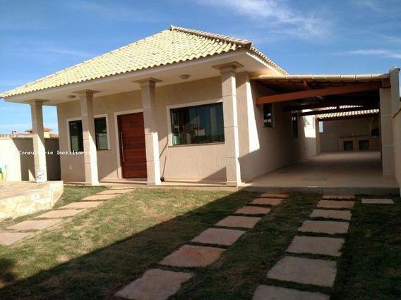 Casa Para Venda Em Araruama, Ponte Dos Leites, 3 Dormitórios, 1 Suíte, 2 Banheiros, 3 Vagas - Iv0201