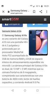 Samsung A10 S Libres A Estrenar