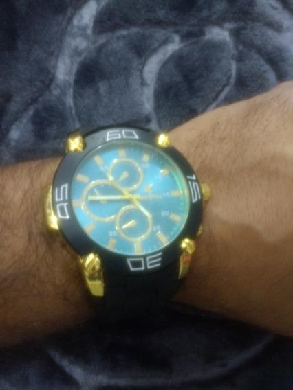 Relógio Masculino Analógico Pulseira De Borracha Exclusivo