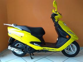 Suzuki Burgman 125 I 2015 Amarela