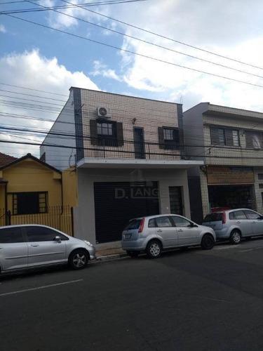 Salão Para Alugar, 330 M² Por R$ 3.500,00/mês - Bonfim - Campinas/sp - Sl0764