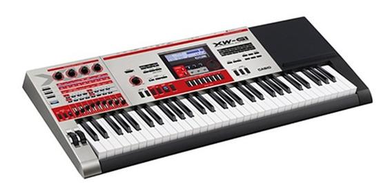 Sintetizador Casio Xw-g1