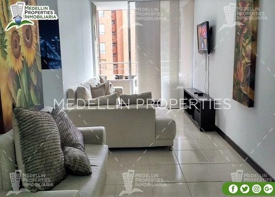 Apartamentos En Arriendo Amoblados En Envigado Cód: 4992