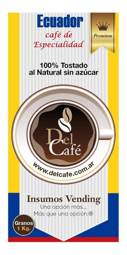 Cafe De Especialidad Ecuador Premium En Grano O Molido