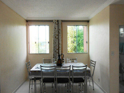 Apartamento De 2 Quartos No Bairro Novo Riacho - 1574