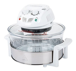 Cocina Clásica 1217 Quart 1200w Halogen Tabletop Horno Blanc