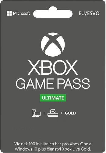 Xbox Live Game Pass Ultimate 12 Meses Xbox One Pc Leer Nueva