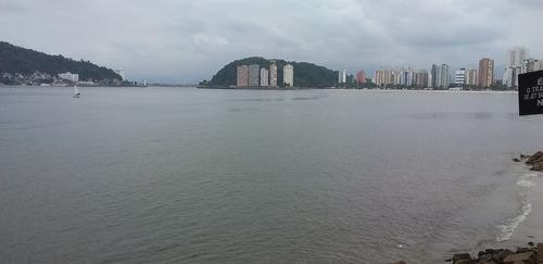 Imagem 1 de 14 de São Vicente- Apto 1 Dorm-lazer Piscina-v.mar Frente-4 Vagas