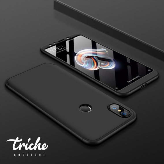 Funda 360 + Cristal Slim Colores Oficina Seria Xiaomi Mi A2