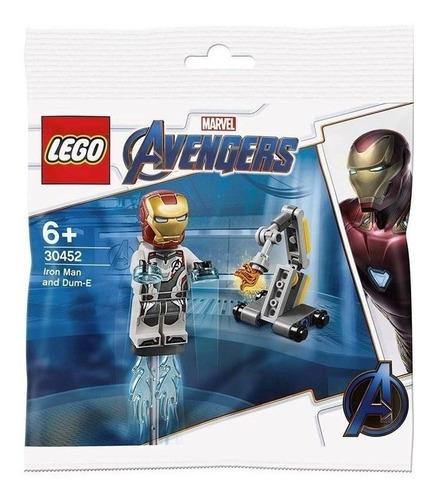 Lego® Avengers Iron Man Y Dum-e 38 Piezas Art. 30452 E.full