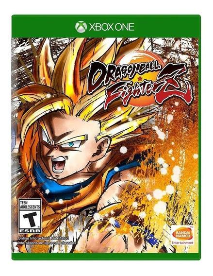 Dragon Ball Z Fighter Z Xbox One Mídia Física