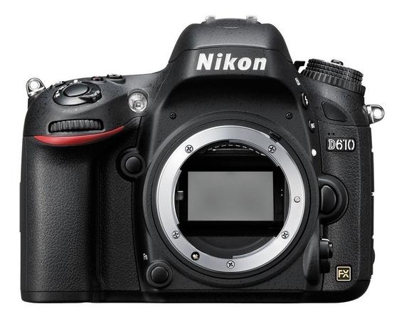 Câmera Nikon D610 - Apenas Corpo