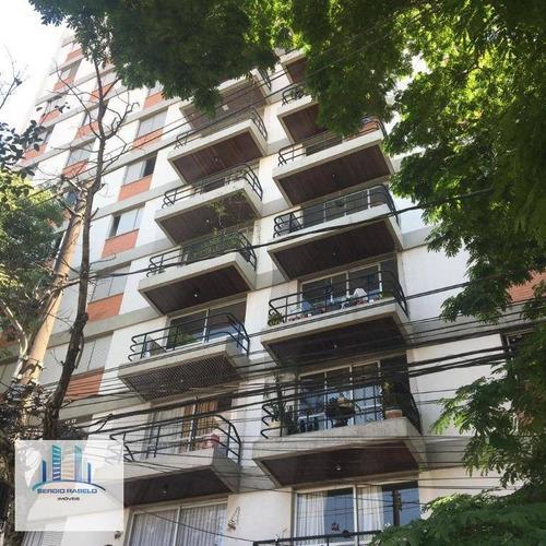 Imagem 1 de 30 de Apartamento Com 3 Dormitórios À Venda, 130 M² Por R$ 1.200.000,00 - Campo Belo - São Paulo/sp - Ap3480