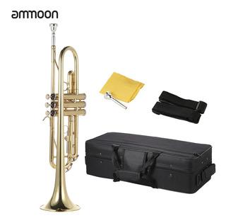 Trompeta Ammoon Afinada En Si Bemol De Latón