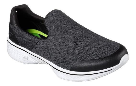 Zapatillas Skechers Go Walk 4 Diffuse Mujer Caminata Import