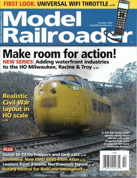 Revista Model Railroader De Ferreomodelismo