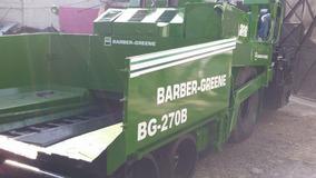 Pavimentadora Barber Green Modelo Bg270b Año 1995