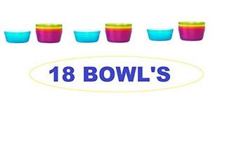 Juegos De Tazones,ikea - Kalas Bowl, Colores Surtidos (j..