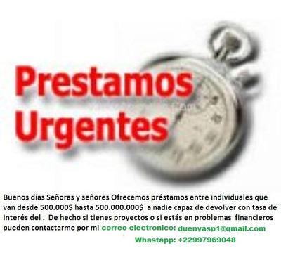 Oferta De Prestamo Entre Particular En 24 Horas En Uruguay H