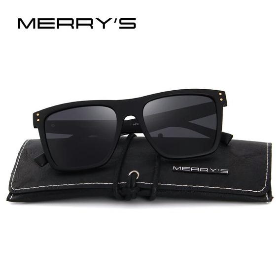 Óculos De Sol Polarizado Unissex Merry