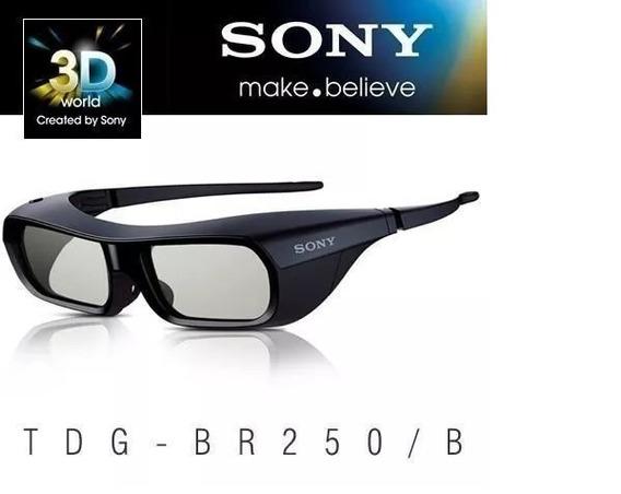 Óculos 3d Ativo Recarregavel Sony Tdg-br250