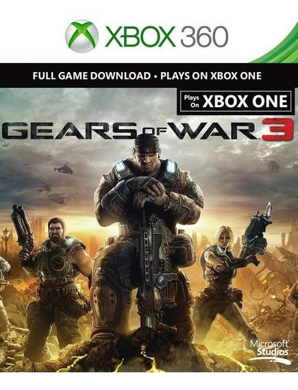 Gears Of War 3 (xbox 360 Xbox One) Código 25 Dígitos Comprar