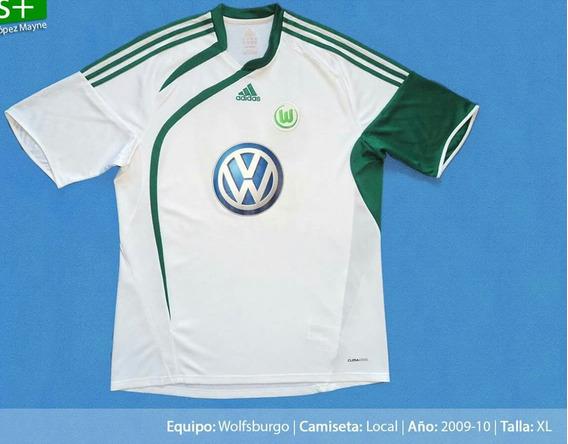 Camiseta Del Wolfsburgo De Alemania #10