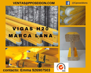 Vigas H20 Marca Lana 2.90 -2018 -incluye Igv