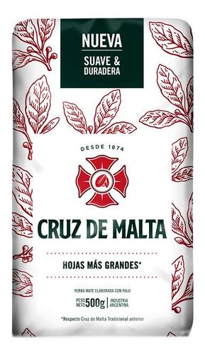 Yerba Mate Cruz De Malta X500g - kg a $120
