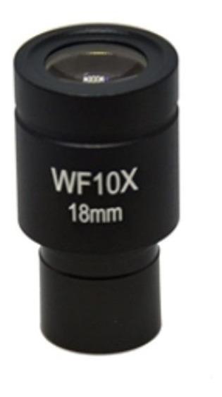 Ocular Com Retículo (seta) 23mm Diametro 18mm Campo Digilab