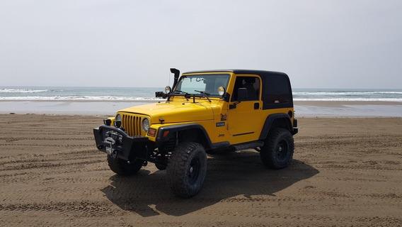 Jeep Wrangler 2.5 Lt Techo Duro