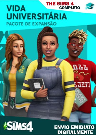 The Sims 4 Completo 2019 Pc + Lançamento Vida Universitária