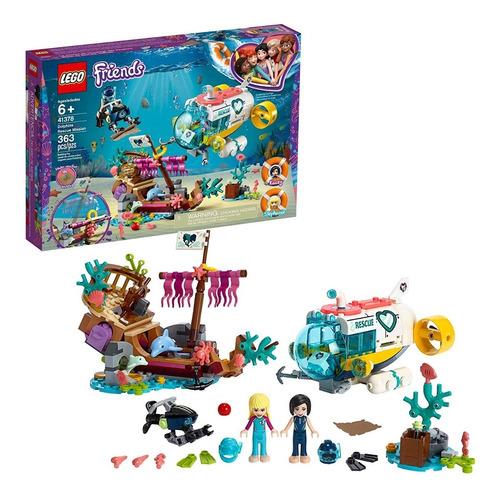 Lego Friends Mision De Rescate De Delfines 41378 363 Pzs