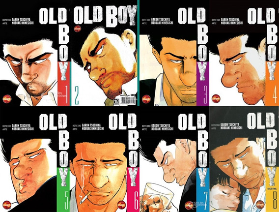 Hqs Mangá Old Boy Completo (#1 A #8) Completo Perfeito